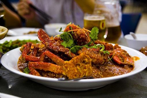 シンガポール料理チリクラブ
